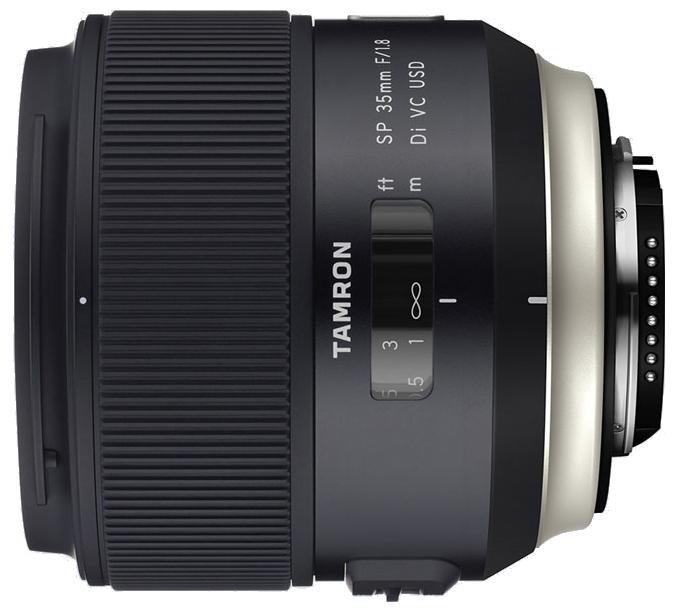 Объектив Tamron SP AF 35mm f/1.8 Di VC USD Nikon Fширокоугольный объектив с постоянным ФР, крепление Nikon F, встроенный мотор, встроенный стабилизатор изображения, автоматическая фокусировка, размеры (DхL): 80.4x78.3 мм, вес: 450 г<br><br>Вес кг: 0.60000000