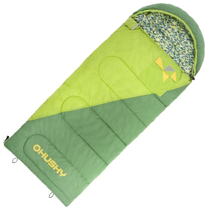 Спальный мешок Husky Husky Kids Milenспальный мешок-одеяло, кемпинговый, температура комфорта до 4°С, синтетический наполнитель (2 слоя), состегивание с аналогичным спальником, вес 1.1 кг<br><br>Вес кг: 1.20000000