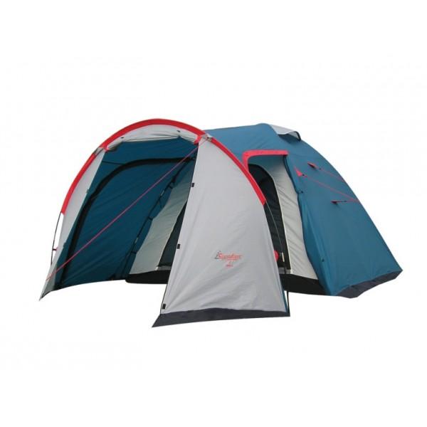 Палатка Canadian Camper RINO 4 royal кемпинговаякемпинговая палатка, 4-местная, внутренний каркас, дуги из стеклопластика, 2 входа / одна комната, высокая водостойкость, вес: 6.2 кг<br><br>Вес кг: 6.20000000