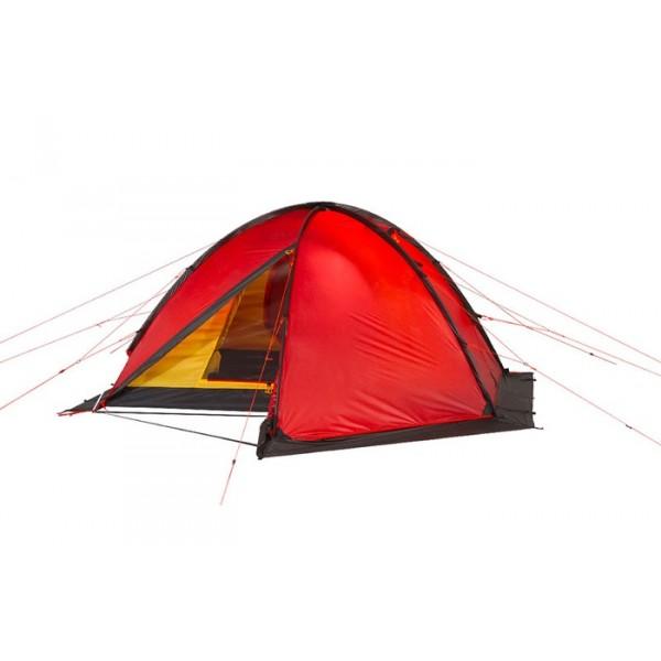 Палатка Alexika Matrix 3Универсальная палатка для восхождений и базовых лагерей. Конструкция с внешними дугами позволяет быстро установить палатку. Многоточечная система оттяжек, усиленная стрепами юбка, каркас из трех дуг - все нацелено на создание великолепной устойчивости палатки даже в сильный шторм.<br><br>Экспедиционная палатка с двумя тамбурами предназначена для организации высокогорных лагерей и длительной эксплуатации в тяжелых погодных условиях. К особенностям палатки можно отнести яркий красный цвет , наличие юбки и большого числа мелких приспособлений: например, у молний на внешнем тенте на концах есть алюминивые крючки, которые можно зацепить, чтобы молния не разъезжалась при высокой нагрузке. На юбке палатки расположены затяжки, которые позволяют легко свернуть юбку. Светоотражающие оттяжки сделаны с двухточечным креплением, хорошо видны в темноте и обеспечивают высокую ветроустойчивость палатки. При необходимости в Matrix 3 могут разместиться 4 человека. Палатка обладает отличной влагоустойчивостью, выдерживает сильный дождь и обильный снегопад.<br><br>Вес кг: 4.80000000