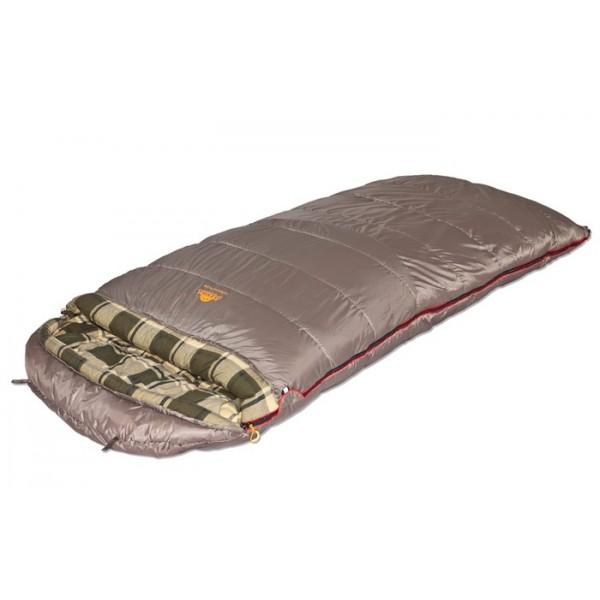 Спальный мешок Alexika Tundra Plus XLКогда становится по-настоящему холодно, промозгло и ветрено, нет необходимости ютиться в узком спальнике-коконе, если у вас есть «Царь-спальник» Alexika Tundra Plus XL. Вам будет тепло и просторно, а потому безмятежный и крепкий сон вам гарантирован. Это спальник для сибаритов, ценящих свой комфорт превыше всего, или для родителей, предпочитающих совместный сон с маленькими детьми даже на природе. Сочетание концепций максимального комфорта Protective Shell (защитная оболочка) и Soft Space (мягкое пространство) позволяет говорить, что Tundra Plus XL - один из самых высокотехнологичных спальников-одеял на рынке.<br><br>Вес кг: 4.60000000