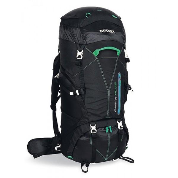 Рюкзак Tatonka Pyrox plus 50 blackТреккинговый рюкзак, идеальный для походов до 1 недели. Благодаря новым легким материалам Pyrox Plus легкий, но при этом очень прочный. Система переноски X Light Vario обеспечивает идеальную посадку рюкзака. 3D-доступ в основное отделение делает упаковку рюкзака простой и быстрой, молния с двумя бегунками позволяет открыть рюкзак только в необходимом месте.<br><br>Объем 50+10 литров<br>Система переноски X Light Vario<br>Пелти для крепления ледоруба или треккинговых палок<br>Регулируемый нагрудный ремень с сигнальным свистком<br>Удобная регулировка поясного ремня<br>Петли для оборудования на поясном ремне<br>Боковые стяжки<br>Нижние стяжки под днищем<br>Ручки спереди и сзади<br>3D-доступ в основное отделение<br>Верхнее и нижнее отделения разделены тканью на молнии<br>Держатель ключей<br>Накидка от дождя<br>Выход для питьевой системы<br>Эластичные боковые карманы<br>Объемный передний карман<br>Отделение для походной аптечки<br><br>Вес кг: 1.80000000