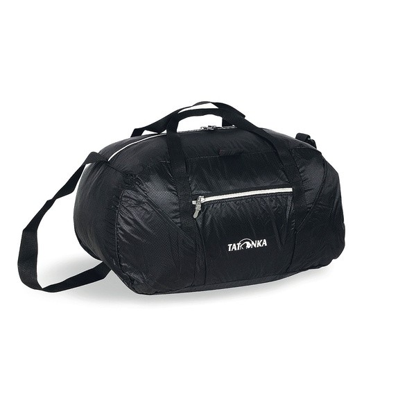 Сумка Tatonka Squeezy Duffle S blackСкладная сверхлегкая сумка Tatonka Squeezy Duffle S с передним карманом. Изготовлена из легкой ткани T-Rip Light с силиконовым покрытием, что обеспечивает хорошую прочность. Оснащёна плечевой лямкой. Сумку Tatonka Squeezy Duffle S можно просто сложить во внутренний карман, уменьшив до размеров 15x14x6 см, и подвесить к багажу. Сумка является идеальным помошником когда вам нужно перенести дополнительные вещи.<br><br>Вес кг: 0.30000000