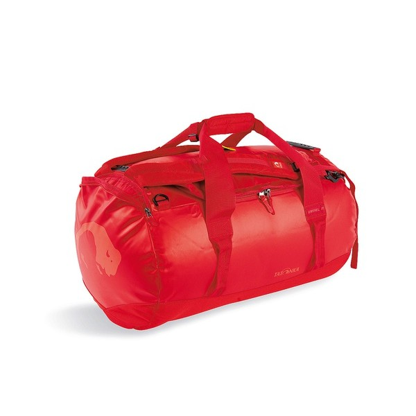 Сумка Tatonka Barrel M redСверхпрочная сумка в спортивном стиле для путешествий. Благодаря комбинации материалов Textreme и Tarpaulin сумка Barrel обладает исключительной прочностью. Сумка имеет мягкое дно, сетчатый карман под крышкой и широкие и прочные ручки для переноски и специальные убирающиеся ручки для переноски сумки на спине.<br><br><br>особо прочные материалы<br><br>дно с мягкой подкладкой<br><br>сетчатый карман под крышкой<br><br>широкие ручки для переноски<br><br>скрытые плечевые ремни<br><br>табличка<br><br>Вес кг: 1.60000000
