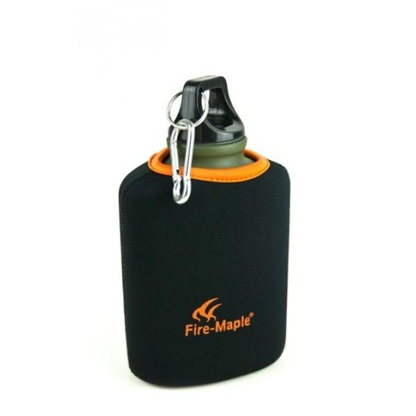 Фляга FMP-312 Army Bottle 450 мл пищевая алюминевая с термочехломФляга алюминиевая, пищевая с термочехлом ARMY BOTTLE FMP-312, объёмом 450 мл от Fire-Maple. Фляга плоская. Благодаря неопреновому чехлу сохраняет температуру. Широкое горло в 35 мм. На крышке имеется полукольцо и карабин для быстрого подсоединения к снаряжению или к рюкзаку.<br><br>Вес кг: 0.20000000