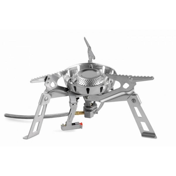 Горелка газовая Fire-Maple FMS-123Новая мощная газовая горелка с надёжной широкой базой (нагрузка до 15 кг) для малой и широкой посуды, которая выполнена с применением системы предварительного подогрева топлива.<br><br>Важно! Эксплуатация газовой горелки Hard Rock (арт.FMS-123) с отдельным ветрозащитным экраном допускается, если расстояние между горелкой и ветрозащитным экраном не менее 3 см от любой детали горелки! Пренебрежение данным предупреждением влечёт за собой риск повреждения горелки, так как горелка достаточно мощная.<br><br>Вес кг: 0.60000000