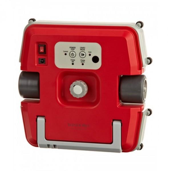 Робот-мойщик окон Windoro Red (15-28мм)Мойка окон – утомительное и сложное, а порой даже опасное занятие для тех, кто проживает в высотном здании. В век технологий мы уже не удивляемся тому, что роботы помогают нам в быту, например, роботы-пылесосы могут каждый день следить за чистотой вашего пола. Не удивительно, что на рынке появилось новое технологичное устройство, которое поможет вам поддерживать чистоту окон в идеальном состоянии. Встречайте – Windoro WCR-I001.<br><br>Первый в мире робот для мойки окон Windoro – инновация в области робототехники! Он будет содержать в идеальной чистоте ваши окна каждый день. Робот подходит, как для очистки окон в вашей квартире, так и для мойки витрин небольших магазинов. Модель на окна толщиной от 15 до 28 мм (стандартные пластиковые пакеты в современных домах). Великолепное качество очистки, легкость управления и эксплуатации, высокий уровень надежности – это еще даже не полный список его всех полезных качеств. Оставьте заботы по уборке роботам, а освободившееся время другим более интересным и полезным делам.<br><br>Windoro очень умный и надежный. Он никогда не начнет работу, пока точно не будет знать, что на данной толщине окна будет держаться надежно. Для этого робот использует специальный датчик силы притяжения магнита, который не позволяет ему начать движение до тех пор, пока это не будет безопасно. Windoro никогда не упадет с окна и будет держаться надежно, как при включенном питании, так и в отключенном состоянии. Это происходит потому, что робот снабжен мощными магнитами, которым не требуется электрическое питание для выполнения своих функций.<br><br>Корпус изготовлен из высокопрочного материала, которому не страшен солнечный свет или другие погодные условия. В качестве источника питания используется надежный Li-Pol (литий-полимерный) аккумулятор емкостью 2000 mAh. Такой аккумулятор прослужит долгие годы без необходимости замены.<br><br>Робот для мойки окон не просто хаотично передвигается по поверхности стекла. Сначала