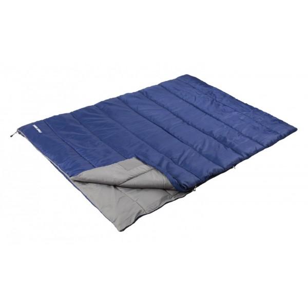 Спальный мешок Trek Planet Sydney Double для двоихКомфортный и очень удобный в использовании спальник-одеяло Trek Planet Sydney Double предназначен для походов преимущественно в летний период. Этот спальник пригодится вам во время поездки на пикник, на дачу, во время туристического похода или поездки на рыбалку. К его несомненным достоинствам можно отнести то, что в остальное время его можно использовать как одеяло для гостей. Двойная ширина спальника, наполнитель Hollow Fiber, Внешний материал: полиэстер, Внутренняя ткань: мягкий полиэстер (Pongee), Две двухсторонние молнии по бокам, Термоклапан вдоль молнии, Внутренний карман, К спальнику прилагается удобный чехол с ручкой для хранения и переноски.<br><br>Вес кг: 2.30000000