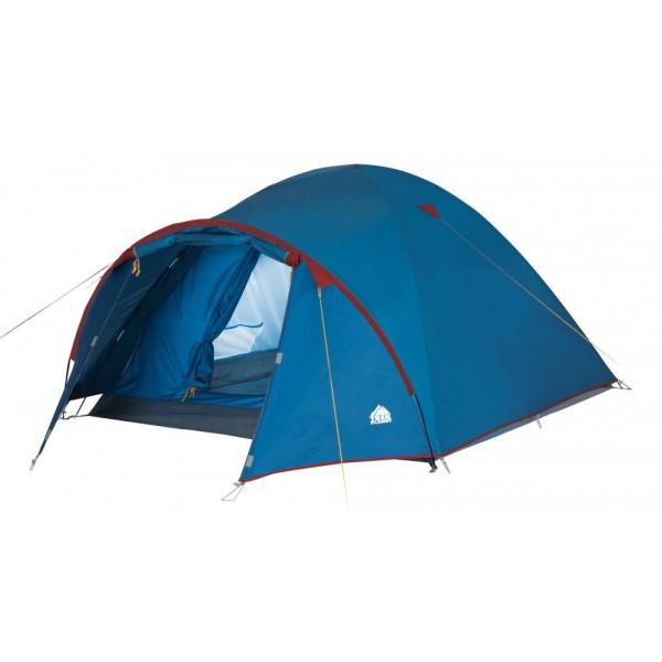 Палатка Trek Planet Vermont 4 трекинговаяЧетырехместная палатка с просторным тамбуром TREK PLANET Vermont 4. Отличительная черта этой палатки - вместительный высокий тамбур! Хорошая водостойкость и устойчивая конструкция надежно защитят вас и ваши вещи от непогоды на отдыхе.<br><br><br>Палатка легко и быстро устанавливается,<br><br>Тент палатки из полиэстера, с пропиткой PU водостойкостью 2000 мм, надежно защитит от дождя и ветра, все швы проклеены,<br><br>Каркас выполнен из прочного стеклопластика,<br><br>Дно изготовлено из прочного армированного полиэтилена,<br><br>Внутренняя палатка, выполненная из дышащего полиэстера, обеспечивает вентиляцию помещения и позволяет конденсату испаряться, не проникая внутрь палатки,<br><br>Удобная D-образная дверь на входе во внутреннюю палатку,<br><br>Москитная сетка на входе в спальное отделение в полный размер двери,<br><br>Вентиляционный клапан,<br><br>Внутренние карманы для мелочей,<br><br>Возможность подвески фонаря в палатке.<br><br>Вес кг: 4.50000000