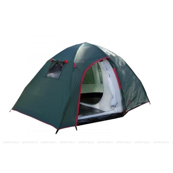 Палатка Talberg Gamma 4Кемпинговая полуавтоматическая палатка. Мест: 4. Вес: 7,5 кг<br><br>Вес кг: 7.60000000