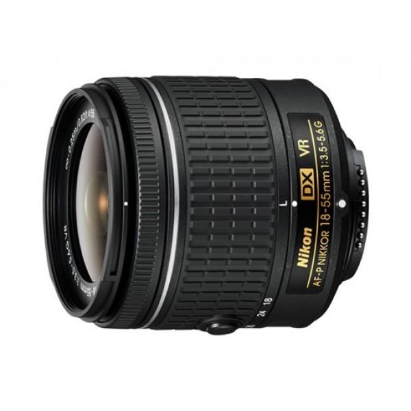 Объектив Nikon 18-55mm f/3.5-5.6G AF-P VR DXЭто превосходный универсальный объектив, охватывающий фокусные расстояния от широкоугольной до обычной съемки. Вы всегда сможете запечатлеть любые объекты, от городских пейзажей до семейных мероприятий и динамичных видеороликов HD. Что бы вы ни снимали, разработанная Nikon система подавления вибраций обеспечивает четкость изображений даже в условиях недостаточного освещения. Усовершенствованная конструкция делает этот объектив компактным и удобным для переноски.<br><br>Вес кг: 0.30000000