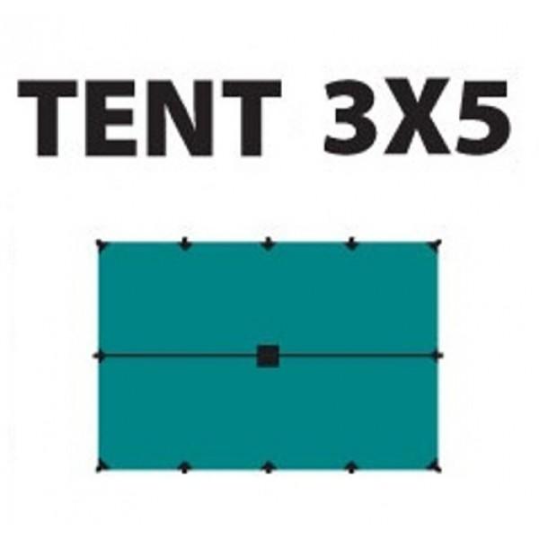Тент Tramp TRT-101.04 размеры 3*5мТент полиэстеровый 3 х 5 м с оттяжками<br><br><br>Идеальная защита от дождя и солнца<br><br>Углы усилены вставками из прочной ткани<br><br>Полный комплект оттяжек<br>