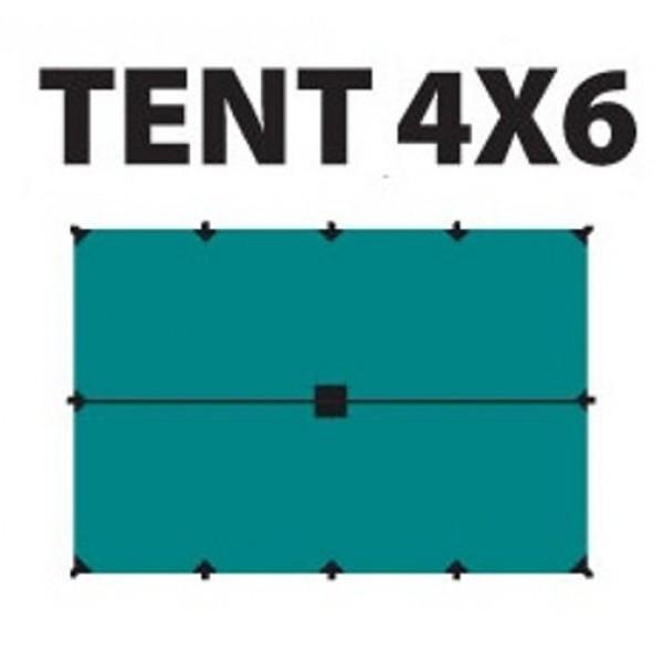 Тент Tramp TRT-102.04 размеры 4*6мТент полиэстеровый 4 х 6 м с оттяжками<br><br><br>Идеальная защита от дождя и солнца<br><br>Углы усилены вставками из прочной ткани<br><br>Полный комплект оттяжек<br>