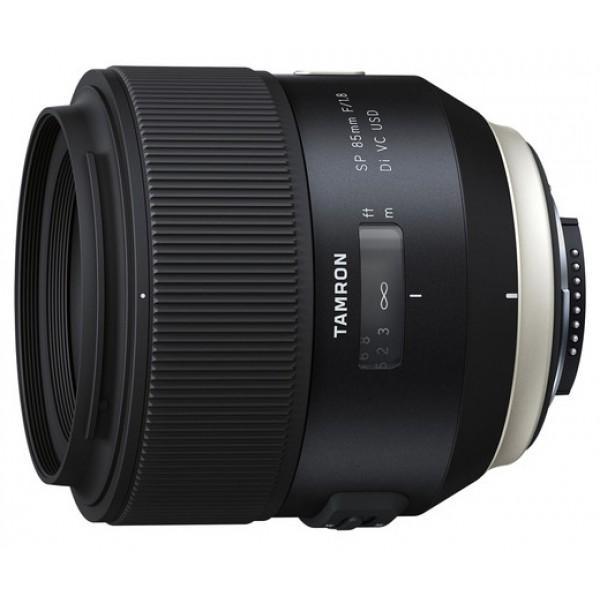 Объектив Tamron SP AF 85mm f/1.8 Di VC USD Nikon FТелеобъектив с постоянным ФР, <br>крепление Nikon F, встроенный мотор, <br>встроенный стабилизатор изображения, <br>автоматическая фокусировка, <br>минимальное расстояние фокусировки 0.8 м, <br>размеры (DхL): 84.8x88.8 мм, <br>вес: 660 г<br><br>Вес кг: 0.70000000