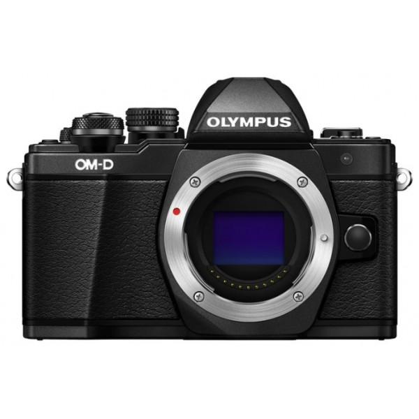 Фотоаппарат Olympus OM-D E-M10 Mark II Body Black со сменной оптикойВнешний вид этой камеры напоминает нам самую первую модель ОМ-1, но при этом она оснащена большим количеством необходимых функций, которые помогут опытным фотолюбителям совершенствовать свое мастерство, а начинающим помогут быстро понять и освоить основы фотографии. C Olympus ОM-D E-M10 Mark II вы не упустите ни одного важного момента.<br><br>Новая системная камера OM-D E-M10 Mark II уникальна тем, что она ориентирована на фотографов, которые ценят не только скорость работы камеры и возможность без проблем делать спонтанные кадры «навскидку», но и классический дизайн! Органы управления новинки напоминают привычные переключатели пленочных камер. Но в данной модели их использование в сочетании с современными цифровыми возможностями камеры доведено до совершенства!<br><br>Камера E-M10 Mark II предлагает пользователю большой безынерционный электронный OLED-видоискатель высокого разрешения (более 2 МП), поворотный 3-дюймовый сенсорный дисплей, Time Lapse c ультравысоким разрешением 4k, публикацию фотографий и удаленное управление всеми функциями камеры с помощью смартфона (с Olympus OI.Share), и массу других оригинальных функций, выгодно выделяющих серию данных камер на фоне конкурентов.<br><br>В условиях низкой освещенности и при съемке в движении раскрывает весь свой потенциал не имеющий мировых аналогов по эффективности работы 5-осевой стабилизатор изображения. Он позволяет устранить размытие, вызываемое «подёргиванием» камеры в руках, практически в любой ситуации: от сдвигов при макросъемке до угловых смещений при работе с телеобъективами или ночной съемке. Не требуется отключать его и при работе со штатива или монопода.<br><br>5-осеовой стабилизатор изображения работает независимо от используемого объектива и обеспечивает отличную компенсацию выдержек при съемке «с рук» до 4 ступеней экспозиции. Даже если вы снимаете одной рукой, вы получите плавные видеоролики и четкие фотоснимки без размытия.<br><