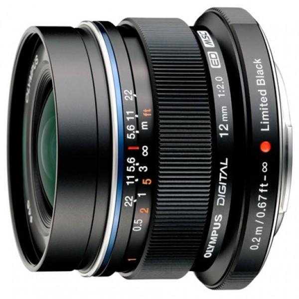 Объектив Olympus ED 12mm f/2.0 Black/SilverШирокоугольный объектив с постоянным ФР, крепление Micro 4/3, автоматическая фокусировка, минимальное расстояние фокусировки 0.2 м, размеры (DхL): 56x43 мм, вес: 130 г<br><br>Вес кг: 0.20000000