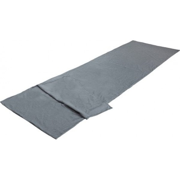 Вставка в спальный мешок High Peak TC Inlett TravelВкладыш в спальный мешок-одеяло выполнен из смесовой ткани, состоящей на 80% из полиэстера и на 20% из хлопка. Легко стирается и быстро сохнет.<br><br>Вес кг: 0.40000000
