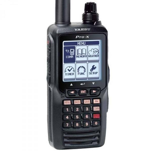 Радиостанция Yaesu FTA-550L авиационнаяРадиостанция YAESU FTA-550 имеет весьма полезные функции. С большим LCD дисплеем, авиационный трансивер FTA-550 обеспечивает полноценную связь на воздушных диапазонах связи и дополнительно позволяет использовать функции навигации VOR и ИСП на диапазоне NAV. FTA-550 имеет функцию мониторинга погодных условий приема NOAA и программирование до 200 каналов памяти, с возможностью быстрого и простого доступа к запрограммированным каналам. Новая простая в использовании система меню, управляемая с помощью графических указателей, позволяет легко осуществлять навигацию, используя весь мощнейший потенциал функций данного трансивера. Кроме того FTA-550 можно легко перепрограммировать в считанные минуты с помощью дополнительного программного обеспечения и USB программатора<br><br>FTA-550L поставляется с: - Литий-ионной аккумуляторной батареей, зарядным устройством 110V и 12VDC, отсеком для щелочных батарей, антенной, клипсой, адаптером для подключения гарнитуры и USB программатором.<br><br>Простая в использовании система меню FTA-550 имеет интуитивно легкую графическую систему меню. Дисплеи и настройки меню имеют логически удобный пользовательский интерфейс. Большой матричный LCD дисплей (160 х 160 пикселей) FTA-550 имеет большой 1,7 х 1,7 матричный LCD дисплей с полной подсветкой и настройкой яркости. Высокое разрешение дисплея позволяет удобно просматривать все возможные функции радиостанции FTA-550. Дисплей навигации VOR (азимутальный радиомаяк) Когда FTA-550 получает сигнал VOR, дисплей автоматически переключается на экран NAV с CDI (индикатором отклонения по курсу) на основании принятого сигнала 200 каналов памяти с возможностью обозначения 15 алфавитно-цифровыми символами Для быстрого и удобного поиска FTA-550 может хранить в памяти до 200 каналов. Использование до 15 буквенно-цифровых символов в названии позволяет вносить более точное описание канала.<br><br>Вес кг: 0.50000000