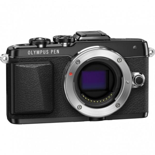 Фотоаппарат Olympus Pen E-PL7 Body White/Silver/Black со сменной оптикойФотокамера с поддержкой сменных объективов, байонет Micro 4/3, без объектива в комплекте, матрица 17.2 МП (17.3 x 13.0 мм), съемка видео Full HD, поворотный сенсорный экран 3, Wi-Fi, вес с элементами питания 357 г<br><br>Вес кг: 0.40000000