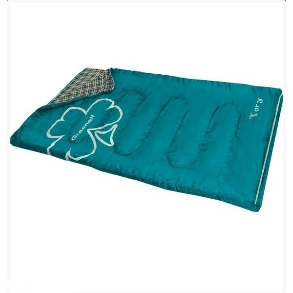 Спальный мешок Greenell ToryЛетний широкий спальник Greenell Тори идеален для отдыха семьей в условиях кемпинга. Полностью расстегивается, что позволяет использовать его, как одеяло. Есть возможность состежки правого и левого спальников. Внутренняя ткань - приятный коже мягкий флис.<br><br>Вес кг: 1.20000000