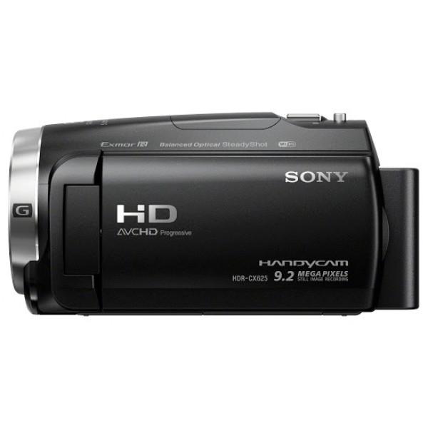 Видеокамера Sony HDR-CX625Видеокамера с 30-кратным оптическим зумом, возможностью записи в формате XAVC S, сбалансированным оптическим стабилизатором изображения с 5-осевой коррекцией, быстрой интеллектуальной автофокусировкой, новым микрофоном для высококачественной записи, интервальной съемкой, замедленной съемкой и другими эффектами –– все это собрано в компактном корпусе.<br><br>Вес кг: 0.40000000