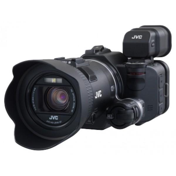 Видеокамера JVC GC-PX100Видеокамера с 10x зумом, <br>запись видео Full HD 1080p на карты памяти, <br>матрица 12.8 МП (1/2.3), <br>карты памяти SD, SDHC, SDXC, <br>Wi-Fi, <br>оптический стабилизатор изображения, <br>вес: 500 г<br><br>Вес кг: 0.60000000