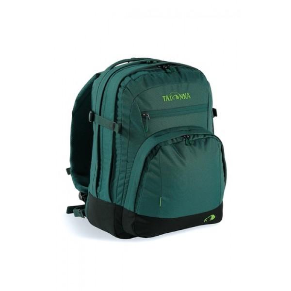 Рюкзак Tatonka Marvin 19 classic greenКлассический компактный офисный рюкзак с отделением для ноутбука и органайзером. Отличается наличием многочисленных отделений и карманов, предназначенных для размещения всех офисных принадлежностей. Спинка и лямки покрыты комфортным материалом AirMesh. Съемный поясной и нагрудный ремни обеспечивают дополнительную фиксацию рюкзака.<br><br><br>Подвеска Padded Back.<br><br>Лямки и спинка обтянуты сеточкой AirMesh.<br><br>Мягкое отделение для ноутбука 15.<br><br>Органайзер.<br><br>Накладной передний карман.<br><br>Отделение для документов.<br><br>Держатель для ключей.<br><br>Дно с мягкой подкладкой.<br><br>Съемный поясной ремень.<br><br>Вес кг: 0.90000000