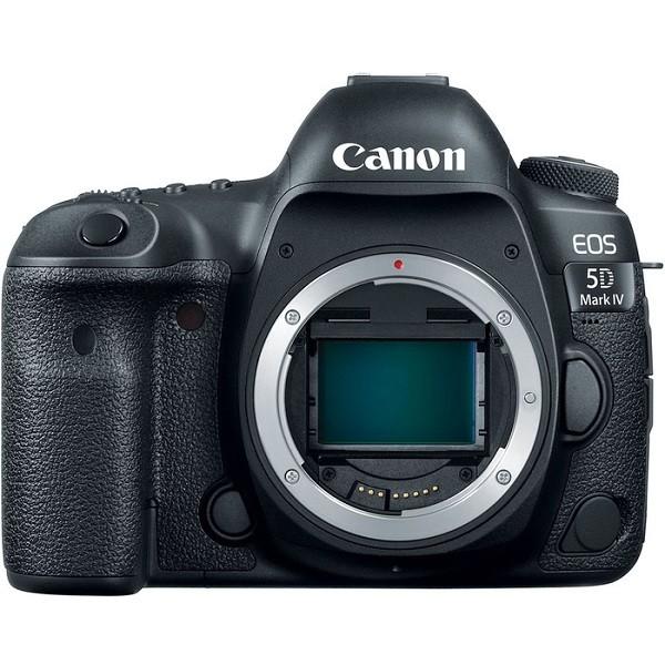 Зеркальный фотоаппарат Canon EOS 5D Mark IV BodyПродуманная конструкция и широкие функциональные возможности камеры EOS 5D Mark IV подойдут для любых условий съемки.<br><br>С того момента как свет попадает в объектив, EOS 5D Mark IV сохраняет все характеристики, цвета и детали. В очередной раз Canon поражает уровнем детализации изображения, благодаря использованию нового сенсора, обеспечивающего непревзойденную четкость снимков. Мир, каким вы его еще не видели<br><br>Усовершенствованные функции фокусировки и экспозамера камеры EOS 5D Mark IV позволят не упустить момент и запечатлеть его даже при сложном освещении.<br><br>Легендарные модели камер создаются для продолжительной и интенсивной работы. Камеры серии EOS 5D — это надежная конструкция, высокая производительность и улучшенная защита от атмосферных воздействий1. Камеры для нового поколения фотографов. EOS 5D Mark IV поддерживает традиции скоростной и надежной работы.<br><br>Записывайте видеоролики, используя невероятные возможности датчика EOS 5D Mark IV, и получайте детализированные и четкие кадры. Функции записи в высоком разрешении 4K1 и Full HD с разной частотой кадров, включая замедленную съемку 60p, расширяют возможности видеосъемки на цифровые зеркальные камеры.<br><br>Подключайтесь и с легкостью делитесь файлами, используя невероятно быстрое соединение USB 3.0, Wi-Fi и NFC.<br><br>Вес кг: 0.80000000