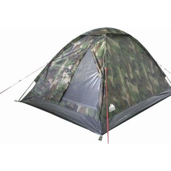 Палатка Trek Planet Fisherman 4 трекинговаяОднослойная компактная палатка на четырех человек. Камуфляжная серия. Москитная сетка на входе. Вентиляционный клапан. Быстрая установка. Вес 2,6 кг<br><br>Вес кг: 2.60000000