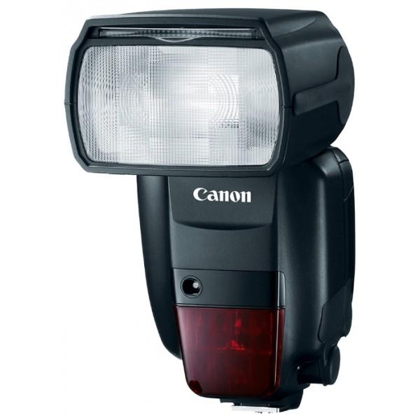 Вспышка Canon Speedlite 600EX II-RTВспышка Speedlite 600EX II-RT разработана для скоростной съемки даже в самых сложных условиях. Вспышка Speedlite 600EX II-RT обеспечивает полный контроль над освещением, ее можно использовать отдельно от камеры или установить на «горячий башмак» камеры.<br><br><br>Снимайте быстрее и дольше<br><br>Надежная работа как при установке на камеру, так и отдельно<br><br>Благодаря беспроводному контроллеру при использовании вспышки отдельно от камеры можно создавать творческое освещение с любой стороны<br><br>Высокая производительность с ведущим числом 60 (м, ISO100)<br><br>Интуитивно понятные элементы управления и информативный дисплей делают работу со вспышкой комфортной<br><br>Вес кг: 0.50000000