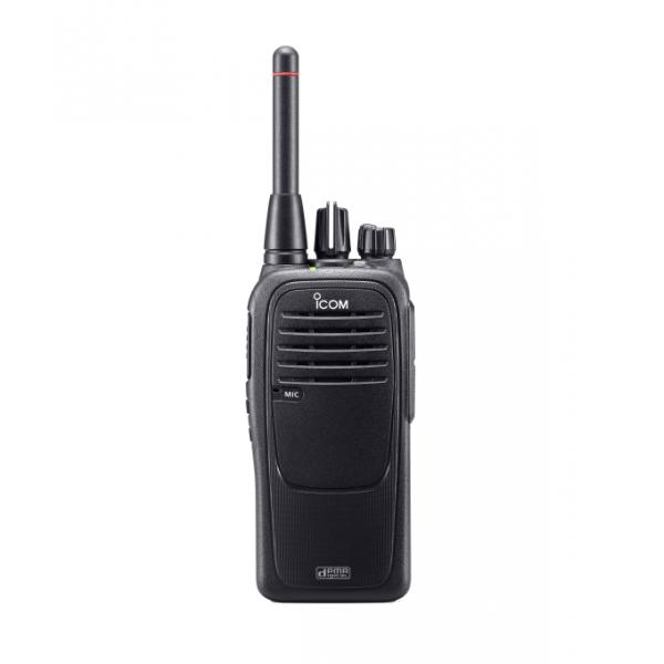 Радиостанция Icom IC-F29DR  цифро/аналоговаяПортативная влагозащищенная цифровая радиостанция стандарта dPMR. 0.5 Вт, жесткая антенна, водозащита IP67, 8 каналов (16 в цифровом режиме), CTCSS, LiIon аккумулятор BP-279 и зарядное устройство BC-213 в комплекте, не требует регистрации.<br><br>Вес кг: 0.30000000
