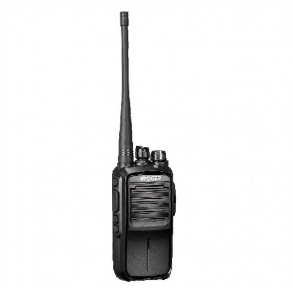 Радиостанция Roger KP-52 портативнаяРадиостанция Roger KP-52 портативная<br><br><br>Li-Poly аккумулятор 1800 мАч<br><br>Аккумулятор повышенной емкости на 2500 мАч (опция)<br><br>Мощность 8 Вт<br><br>Регулировка выходной мощности передатчика<br><br>Три программируемые кнопки<br><br>Функция PIT ID<br><br>Скремблер речи<br><br>Регулировка уровня шумоподавления<br><br>Режим экономии заряда<br><br>VOX<br><br>Шаг частоты - 12.5/25 кГц<br><br>Сканирование и приоритетное сканирование<br><br>Аудио оповещение о номере выбранного канала<br><br>Оповещение о разряде аккумулятора<br><br>Функция экстренного вызова<br><br>Поддержка субтональных кодов CTCSS/DCS<br><br>Вес кг: 0.30000000