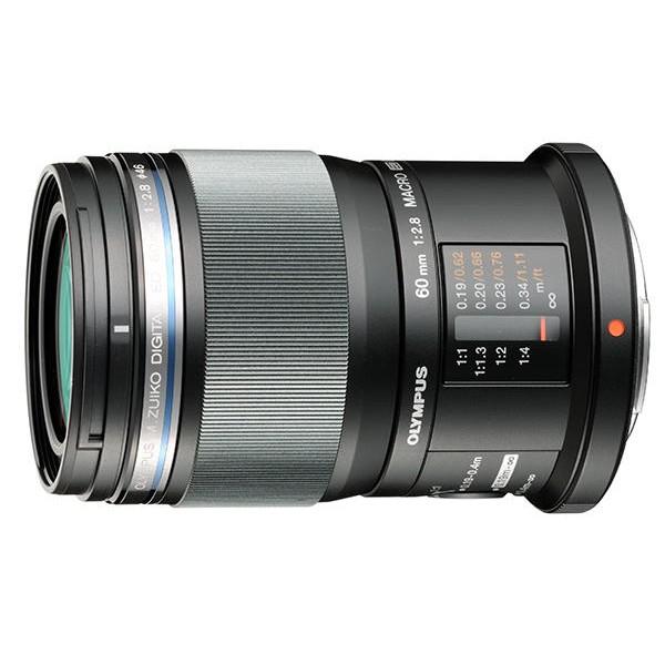 Объектив Olympus ED 60mm f/2.8 MacroЭтот макрообъектив выделяется качеством, универсальностью и надежностью. Легко получить снимки с близкого расстояния (1:1) в натуральную величину с идеальной детализацией и мягким боке. При съемке с OM-D E-M1, превосходное качество изображения повышается еще больше благодаря серии снимков: серия из восьми изображений с различными точками фокусировки объединяются в один снимок для создания большей глубины резкости. Этот объектив также пыле- и брызгозащищен.<br>
