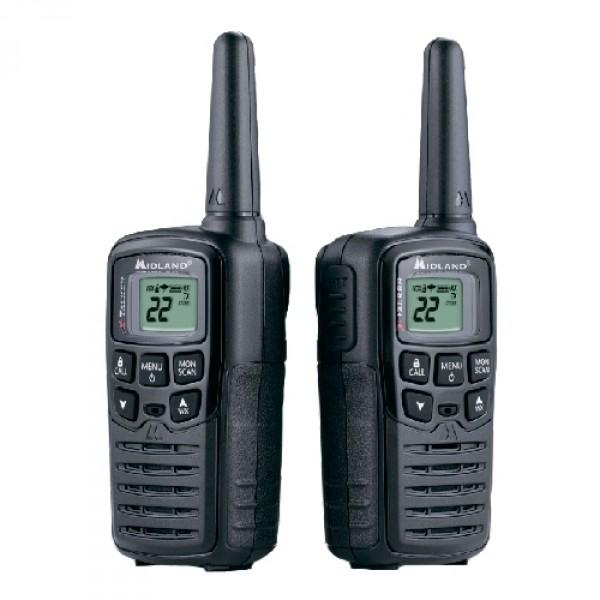Радиостанция Midland XT10 портативнаяБезлицензионная PMR рация Midland XT10 имеет миниатюрные размеры и необходимый потребителю набор функциональных возможностей. 8 дополнительных, заранее запрограммированных , PMR-каналов помогут пользователям радиосвязи, особенно начинающим, легко организовать общение с абонентами своей группы. Как и все модели линейки X-TALKER рация ХТ10 оснащена режимом Time Out Timer (ТОТ), который позволяет ограничить время передачи, тем самым устанавливая некий регламент общения и отчасти экономя заряд АКБ.<br><br>Источник питания – аккумуляторы Ni-MH или щелочные батарейки (тип ААА). Источник питания и зарядное устройство в комплект не входят.<br><br>Вес кг: 0.40000000