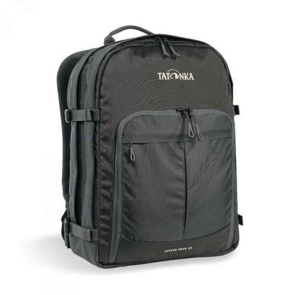 Рюкзак Tatonka Server Pack 25 titan greyРюкзак для офиса или учебы с большими возможностями аккуратного хранения вещей. В двух основных отеделениях удобно разместить папки и документы A4 и ноутбук 15,4 дюйма (для него предусмотрен свой карман). В переднем кармане находитя удобный огранайзер с мягким карманом для смартфона. Удобная система переноски и мягкие плечевые лямки гарантируют максимальный комфорт.<br><br><br>Спинка Vent Comfort<br><br>Регулируемый нагрудный ремень<br><br>Съемный поясной ремень<br><br>Компрессионные стропы по бокам<br><br>Ручка для переноски<br><br>Уплотненное дно<br><br>Передний карман с органайзером и отделением для смартфона<br><br>Вшитое отделение для ноутбука (не касается дна)<br><br>Крючок для ключей<br><br>Вес кг: 0.86000000