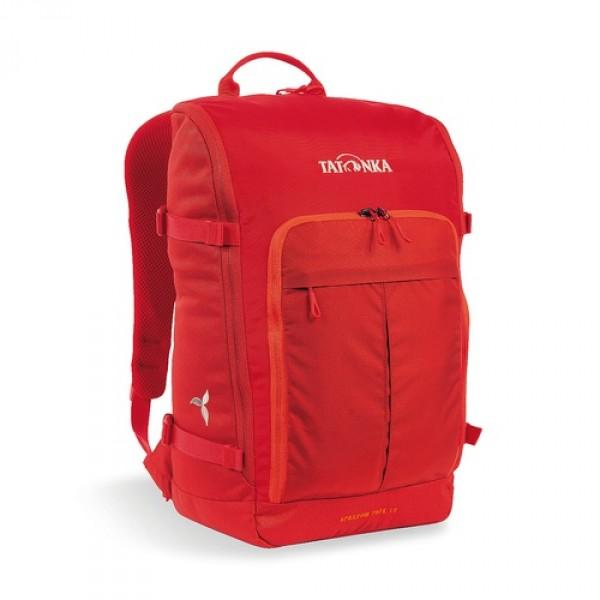 Рюкзак Sparrow Pack 19 Women redКомпактный рюкзак для учебы или работы. Основное отделение открываются полностью благодаря молнии, идущей по всему периметру рюкзака: собирать рюкзак очень легко, кроме того, легко достать любые вещи. Это удобно, например, в аэропорту на регистрации. Для ноутбука предусмотрен специальный карман. В передней части рюкзака находится отделение с органайзером. Благодаря лямкам анатомической формы и нагрудному ремню, носить рюкзак кофмортно и легко.<br><br><br>Спинка Vent Comfort<br><br>Лямки анатомической формы<br><br>Регулируемый нагрудный ремень<br><br>Компрессионные стропы<br><br>Ручка для переноски<br><br>Дополнительные карманы в основном отделении<br><br>Основное отделение открывается полностью<br><br>Уплотненное дно<br><br>Передний карман с органайзером<br><br>Крючок для ключей<br><br>Отделение для ноутбука 15,4 дюйма<br><br>Вес кг: 0.74000000