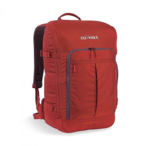 Рюкзак Tatonka Sparrow Pack 22 redbrownКомпактный офисный рюкзак для учебы или работы. Основное отделение открывается полностью благодаря молнии, идущей по периметру рюкзака. Для ноутбука размером до 15,4 дюймов имеется специальное отделение-карман. Рюкзак, также, оснащен передним карманом с удобным органазйером. Рюкзак отлично держит форму, даже если внутри мало вещей.<br><br><br>Спинка Vent Comfort<br><br>Лямки анатомической формы<br><br>Регулируемый нагрудный ремень<br><br>Компрессионные стропы<br><br>Ручка для переноски<br><br>Дополнительные карманы в основном отделении<br><br>Рюкзак открывается полностью<br><br>Плотное дно<br><br>Передний карман с органайзером<br><br>Крючок для ключей<br><br>Отделение для ноутбука 15,4 дюйма<br><br>Вес кг: 0.75000000