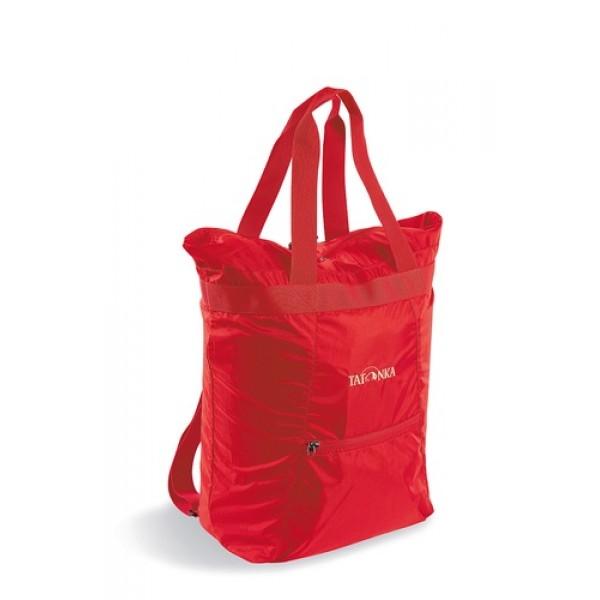 Сумка Tatonka Market Bag redMarket Bag - функциональная и вместительная сумка объемом 22 литра. Сумка имеет ручки для переноски, и, кроме того, плечевые лямки, чтобы в случае, если сумка очень тяжелая, ее можно было нести как рюкзак.<br><br><br>В сложенном виде занимает минимум места<br><br>Регулируемые плечевые ремни<br><br>Прочные ручки для переноски<br><br>Большое отделение на молнии (22 литра)<br><br>Небольшой карман на молнии<br><br>Вес кг: 0.30000000