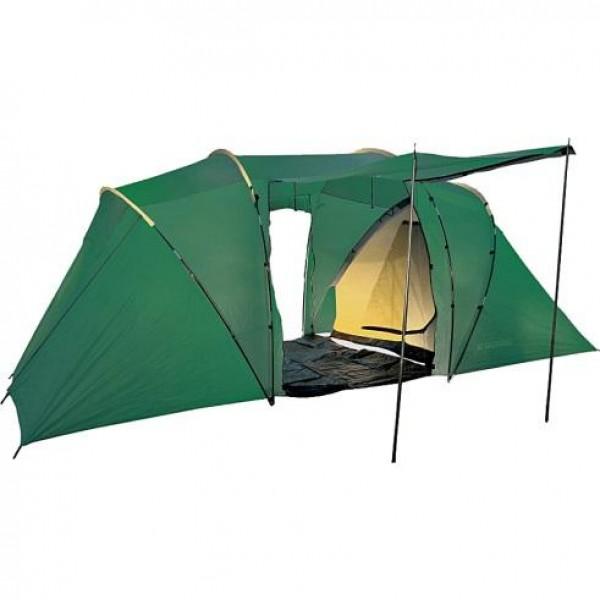 Палатка Talberg Taurus 4Двухкомнатная двухслойная кемпинговая палатка<br><br>Talberg Taurus 4 это палатка Weekend только перекрашенная и улучшенная. Она имеет антимоскитную сетку на входе в тамбур.<br><br>Вес кг: 10.50000000