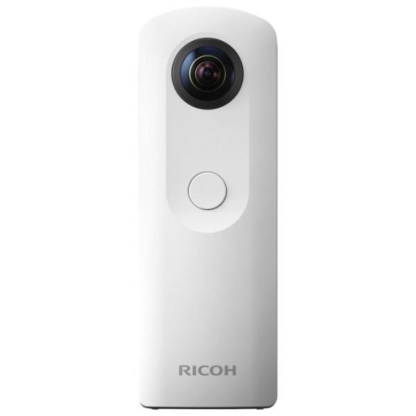 Панорамная камера RICOH THETA SC Pink/Grey/White/BlueRICOH THETA SC, разработанная как бюджетный вариант серии, позволяет без труда получать изображения с охватом 360 градусов. Это значит приход новой эры виртуальной реальности. Модель среднего сегмента RICOH THETA S с двумя высокопроизводительными датчиками CMOS и светосильным объективом обеспечивает высокое качество изображений, при этом являясь более легкой по сравнению с предыдущими моделями.<br><br>Камера RICOH THETA SC позволяет легко переносить полученные панорамные изображения на смартфоны и планшеты. Кроме того, пользователь может загружать изображения на специальный веб-сайт www.theta360.com и публиковать их в социальных сетях, а также загружать видео с охватом 360 градусов напрямую в Facebook и на YouTube.<br><br>Камера RICOH THETA SC позволяет получать сферические изображения с впечатляющем разрешением около 14 мегапикселей благодаря сочетанию двух ключевых технологий — светосильной двухобъективной оптической системы с изломанной осью и широкой диафрагмы (с максимальной апертурой F2.0, как у старшей модели) и большой светочувствительной матрице. Вместе они позволяют получать красивые панорамные изображения с минимальным уровнем шумов — даже при ночной фотосъемке. Фотограф может также настраивать параметры на синхронизированном по Wi-Fi смартфоне или планшете в специализированных приложениях с обновленного интуитивно понятного интерфейса.<br><br>Камера RICOH THETA SC позволяет снимать полностью сферическое видео в высоком разрешении формата Full HD (1920 x 1080 пикселей, 30 кадров в секунду). При этом максимальная продолжительность видео составляет 5 минут (после процесса синхронизации). Пользователь может с легкостью создавать видеоролики безупречного качества на смартфоне или планшете без использования компьютера, меняя размер изображения, форму и композицию простым нажатием кнопки. Благодаря специальным видеоприложениям THETA+ для редактирования изображений2 можно без труда редактировать все снятые вид