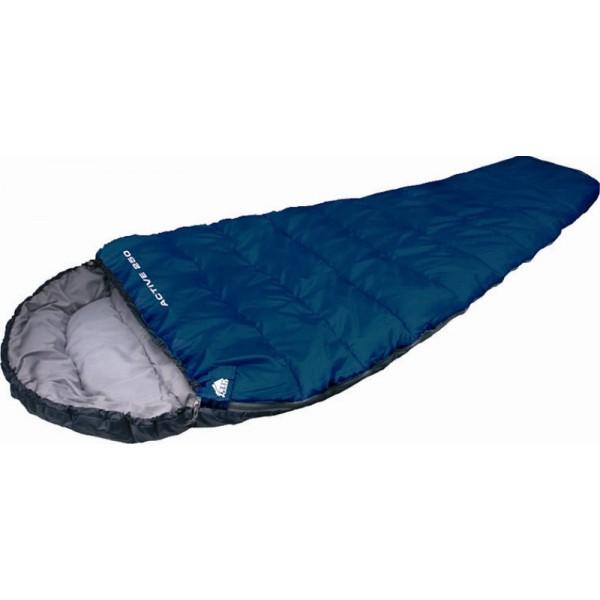 Спальный мешок Trek Planet Active 300Комфортный, легкий и компактный спальник-кокон TREK PLANET Active 300 - отлично подойдет всем любителям уюта и комфорта во время летнего активного отдыха.<br><br><br>Удобный глубокий капюшон,<br><br>Затягивающаяся шнуровка по краю капюшона,<br><br>Молния с правой стороны,<br><br>Молния имеет два замка с обеих сторон<br><br>Термоклапан вдоль молнии,<br><br>Внутренний карман,<br><br>Небольшой вес,<br><br>К спальнику прилагается чехол для удобного хранения и переноски.<br><br>Вес кг: 1.20000000