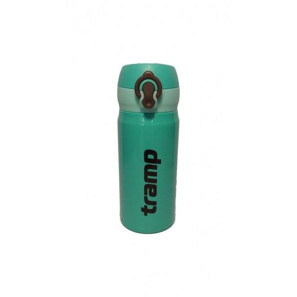 Термос Tramp TRC-080, 0,35 литра облегченныйСуперлегкий и компактный термос для повседневного использования. При нажатии на кнопку откидывается крышка, и термос преобразуется в термокружку. При производстве используется высококачественное экологически безопасное сырье, соблюдаются требования защиты окружающей среды от загрязнений.<br><br>Вес кг: 0.30000000
