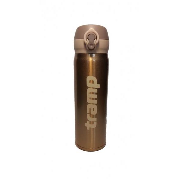 Термос Tramp TRC-081, 0,5 литра облегченныйСуперлегкий и компактный термос для повседневного использования. При нажатии на кнопку откидывается крышка, и термос преобразуется в термокружку. При производстве используется высококачественное экологически безопасное сырье, соблюдаются требования защиты окружающей среды от загрязнений.<br><br>Вес кг: 0.40000000