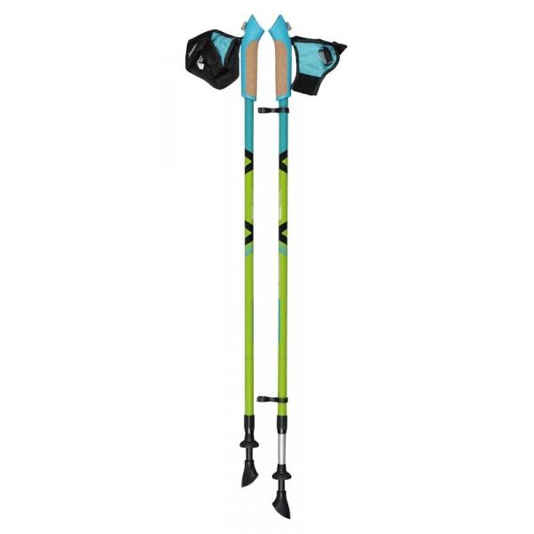 Палки Ecos AQD-B015 телескопические для скандинавской ходьбыПалки для скандинавской ходьбы Ecos AQD-B015.<br>