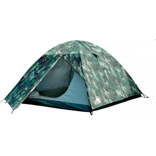 Палатка Trek Planet Alaska 4 трекинговаяДвухслойная палатка с небольшим тамбуром в камуфляжном исполнении. Двухслойная конструкция позволяет отводить конденсат, небольшой тамбур позволяет хранить обувь и вещи вне спальни.<br><br><br>Легко и быстро устанавливается<br><br>Все швы проклеены<br><br>Внутренняя палатка, выполненная из дышащего полиэстера, обеспечивает вентиляцию помещения и позволяет конденсату испаряться, не проникая внутрь палатки<br><br>Москитная сетка на входе в спальное отделение в полный размер двери<br><br>Вентиляционный клапан<br><br>Внутренние карманы для мелочей<br><br>Возможность подвески фонаря в палатке<br><br>Чехол с двумя ручкам на молнии для транспортировки и хранения<br><br>Вес кг: 3.40000000