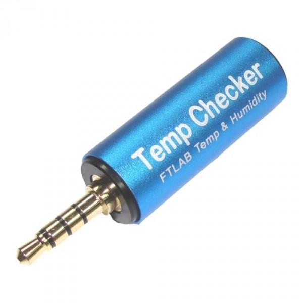 Термометр для смартфона FTC-001FTLab Smart Temp Checker FTC-001 представляет собой измерительный прибор для определения температуры и влажности воздуха. Представленная модель – полупроводниковый датчик в алюминиевом корпусе, подключаемый к смартфону через гнездо для наушников. Для получения более точных данных рекомендуется использовать удлинитель. Датчик совместим с устройствами, работающими на ISO и Andriod 4.2 (и выше). Для отображения информации о температуре и влажности необходимо загрузить и установить приложение из App Store/Google Play.<br><br>Стоит отметить, рассматриваемый датчик отличается низким энергопотреблением, работы его батареи хватит примерно на 250 часов.<br><br>Устройство обладает компактным размером и легким весом, его можно использовать легко и быстро где и когда угодно.<br><br>Вес кг: 0.05000000
