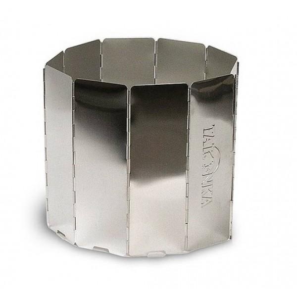 Экран ветрозащитный Tatonka 10tlg FaltwindschutzВетрозащитный экран из алюминия для походной кухни. Существенно экономит горючее и ускоряет приготовление пищи.<br><br>Вес кг: 0.40000000