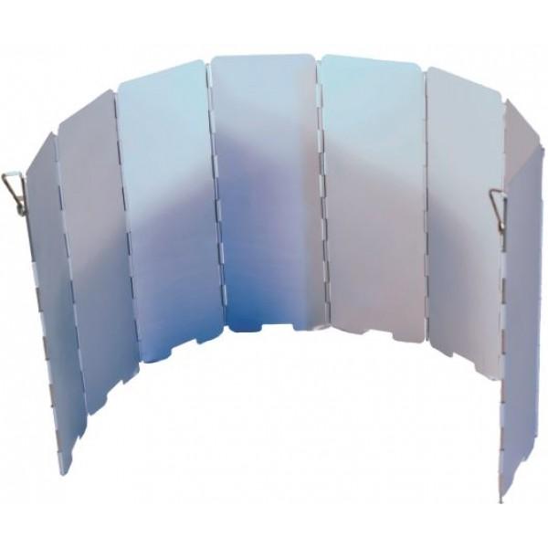 Экран ветрозащитный Следопыт большой 68*24смИспользуется для защиты пламени горелки от задувания порывами ветра, а также уменьшения теплопотерь от работающего газового прибора.<br><br>Вес кг: 0.20000000