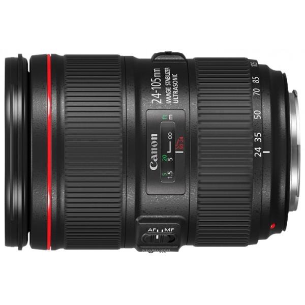 Объектив Canon EF 24-105mm f/4L IS II USMСтандартный зум-объектив EF 24-105mm f/4L IS II USM обеспечит заметно лучшую маневренность вне зависимости от того, что вы снимаете — фото или видео. Идеальный выбор, в случаях, когда вам требуется исключительное качество изображения, а у вас всего один объектив.<br><br>Вес кг: 1.00000000