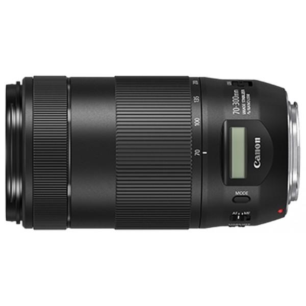 Объектив Canon EF 70-300mm f/4-5.6 IS II USMИдеально подходит для съемки спортивных соревнований и дикой природы. Объектив EF 70-300mm f/4-5.6 IS II USM совместим с полнокадровыми цифровыми зеркальными камерами EOS и камерами EOS с датчиком изображения формата APS-C.<br><br>Вес кг: 0.90000000